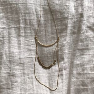 Madewell three tired necklace